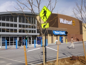 New Lakeside Walmart
