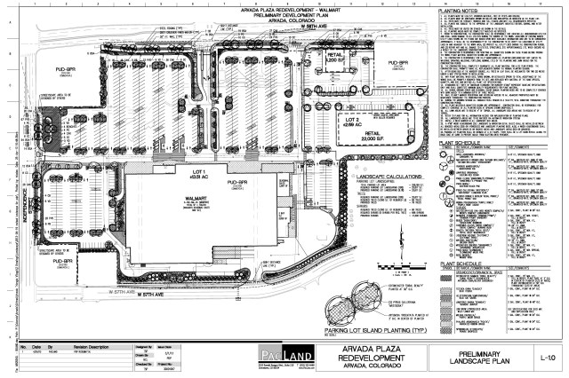 Arvada Plaza Preliminary Development Plan