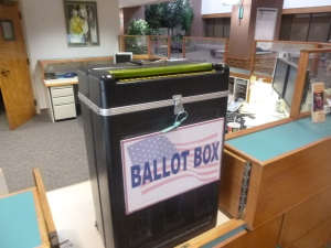 Arvada City Hall Ballot Box