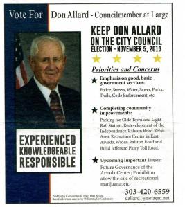 Arvada Press Ad