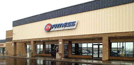24 Hour Fitness at 81st & Sheridan