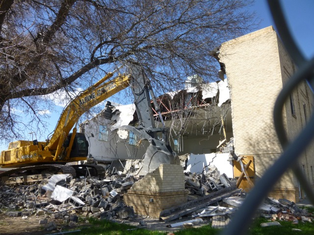 April 23rd Demolition
