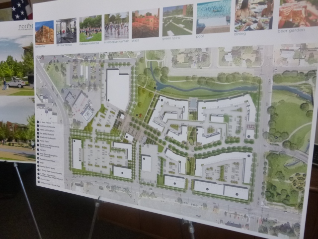 Ralston Creek North -- Proposed Site Plan