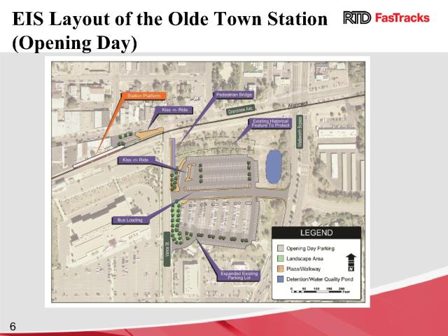 Currently Approved EIS Station Layout Showing Drop-Off Locations
