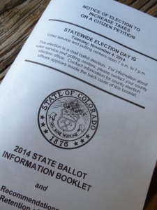 Ballot Blue Book 2014