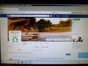 The CLRC's Facebook page