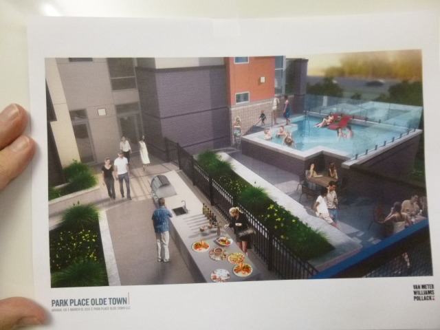 What the plaza will look like when completed