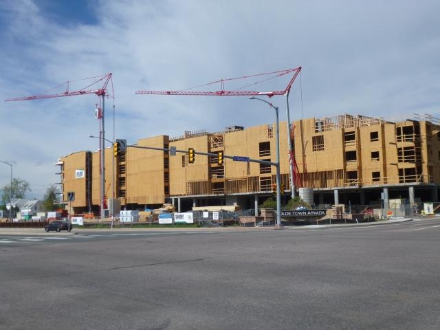 Park Place Olde Town under construction
