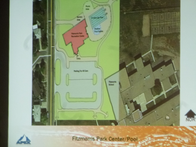 Overall Fitzmorris Center site plan