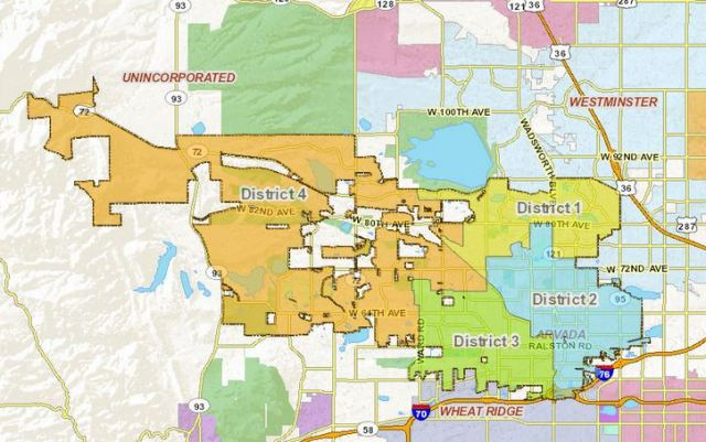 Arvada City Council Districts