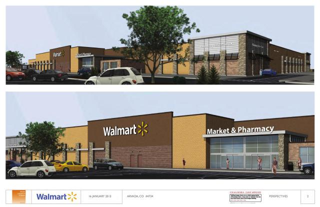 Proposed Triangle Walmart
