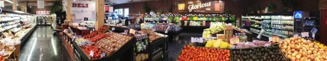 Niche market grocery store in Boulder
