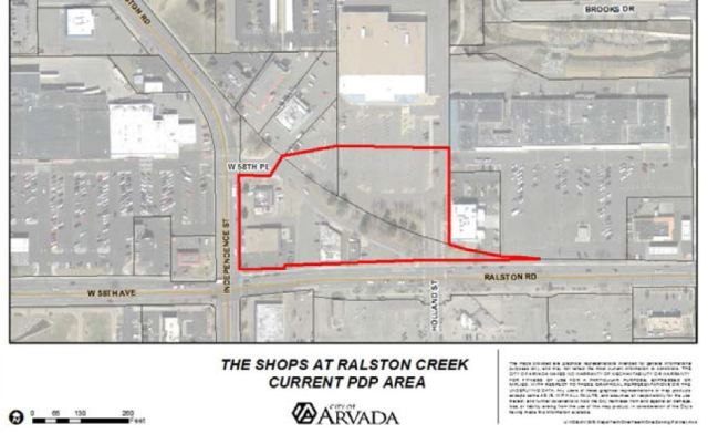 Phase One boundary for Ralston Creek North