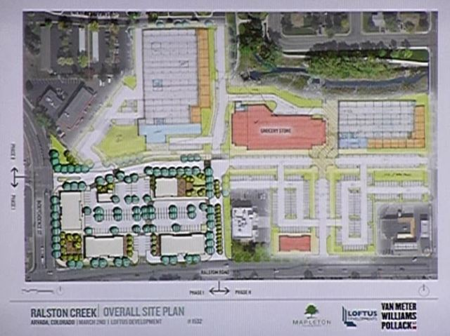 Arvada Square/Ralston Creel North concept plan