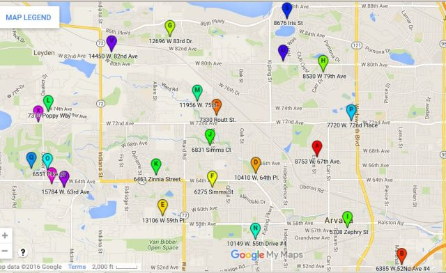 Yard Sign Pick Up Locations